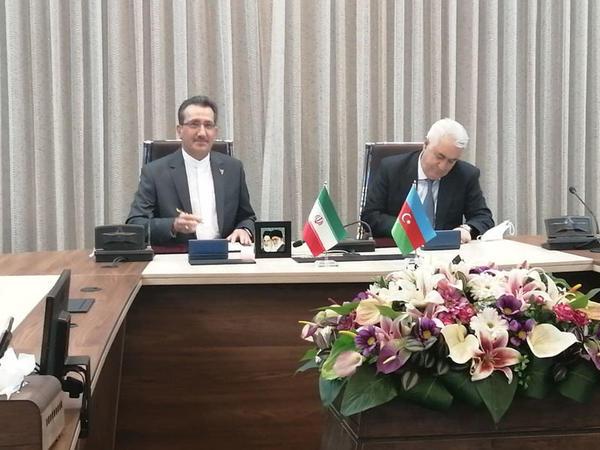 Azərbaycan və İran arasında dəmiryol sahəsində əməkdaşlıq memorandumu imzalanıb