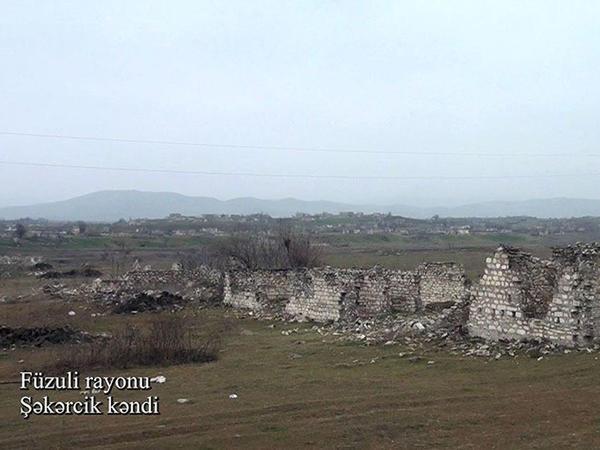 """Füzuli rayonunun Şəkərcik kəndi - <span class=""""color_red"""">VİDEO - FOTO</span>"""