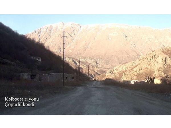Kəlbəcərin Çopurlu kəndi - VİDEO