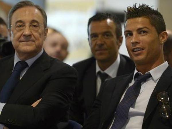 """Ronaldo """"Real""""ın prezidenti ilə görüşdü"""