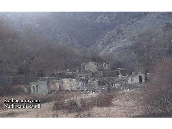 """Kəlbəcərin Nadirxanlı kəndi - <span class=""""color_red"""">VİDEO</span>"""