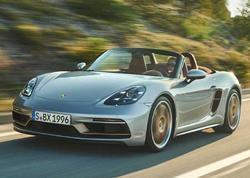 Porsche Boxster modeli 25 illik yubileyini xüsusi seriya ilə qeyd edir - FOTO