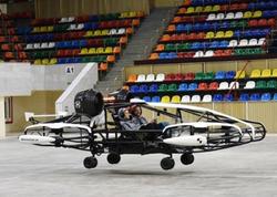 Moskvada uçan taksinin sınağı keçirilir