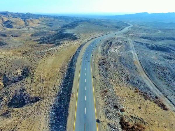 Samuxda 39.5 kilometrlik yol yenidən qurulub - FOTO