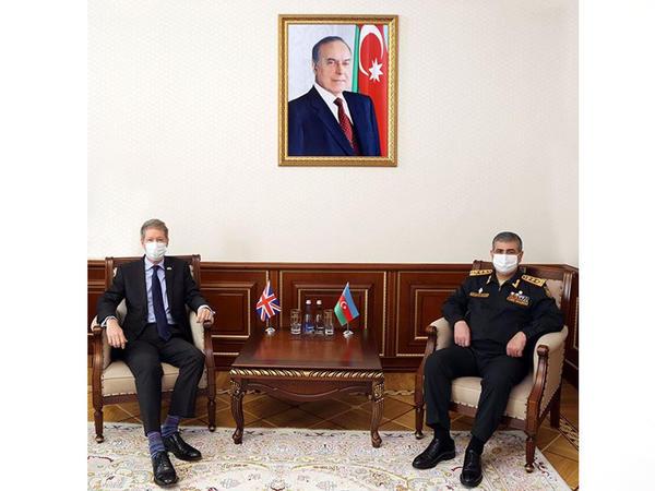 Zakir Həsənov səfir Ceyms Şarp ilə görüşdü