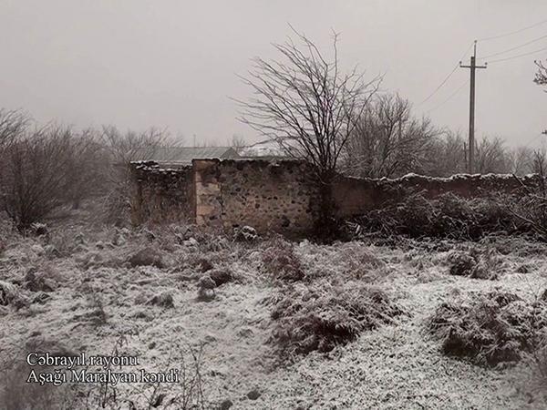 Cəbrayıl rayonunun Aşağı Maralyan kəndi - VİDEO - FOTO