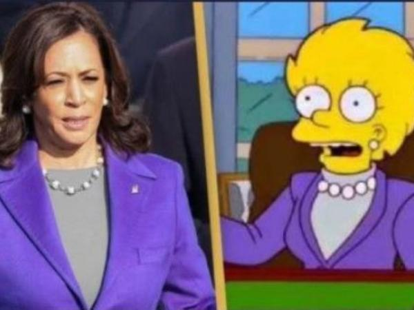 """""""Simpsonlar"""" Harrisin seçiləcəyini öncədən görüb"""