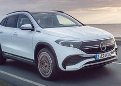 Mercedes-Benz yeni elektrikli avtomobili EQA-nı təqdim etdi