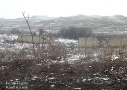 Füzuli rayonunun Kürdlər kəndi - VİDEO - FOTO