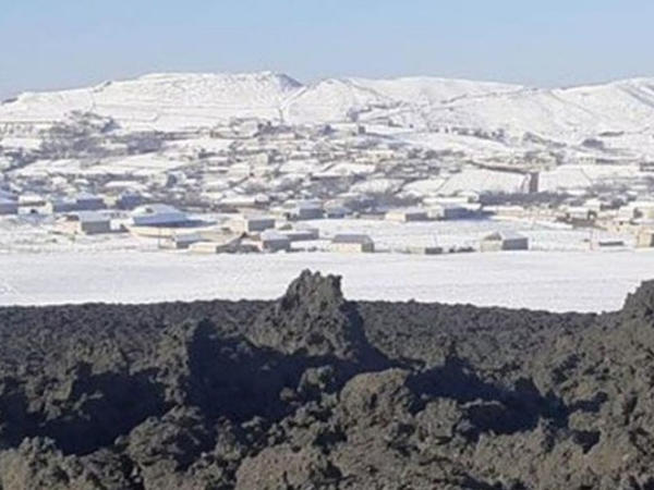 Şamaxıdakı vulkan evlərin divarını çatlatdı - VİDEO