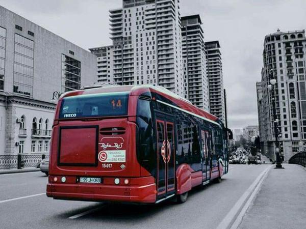 Bu avtobusların hərəkət sxemi dəyişdi - FOTO