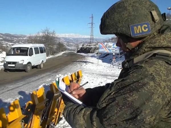 Rus sülhməramlılar Qarabağda antiterror təlimi keçirlər
