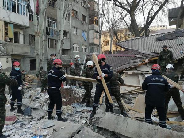 Xırdalandakı partlayışda xəsarət alan 5 nəfər evə buraxıldı