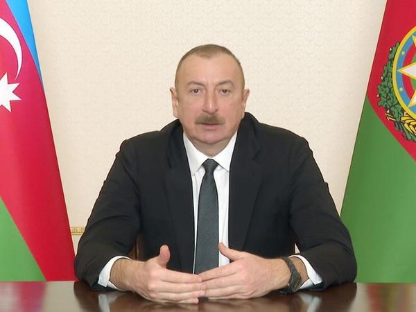 """Azərbaycan Prezidenti: """"Müharibə bir çoxlarına Azərbaycanın potensialının nədən ibarət olduğunu göstərdi"""""""