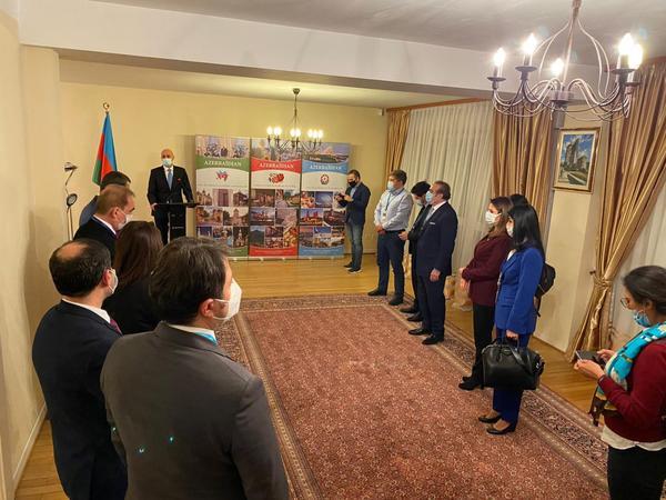 Azərbaycan Respublikasının Avropa Şurasında üzvlüyünün 20 illiyi Strasburqda qeyd olunub - FOTO