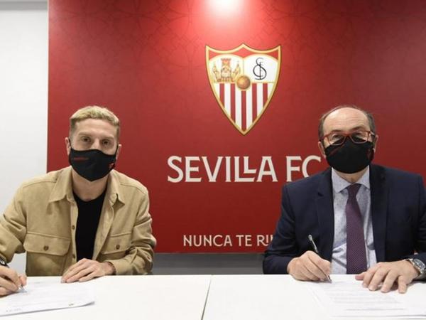 """""""Sevilya""""da yeni futbolçu"""