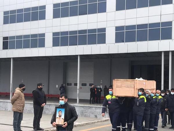 Fərman İsmayılovun nəşi Bakıya gətirildi - YENİLƏNİB - VİDEO - FOTO