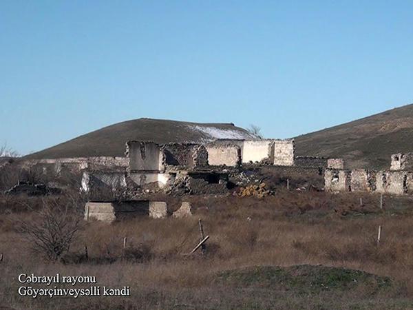Cəbrayılın Göyərçinveysəlli kəndi - VİDEO - FOTO