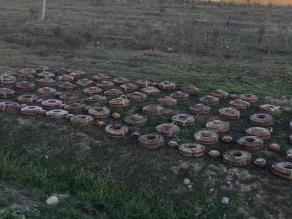İranla sərhəd xətti minalardan təmizlənir