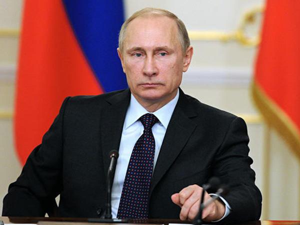 """Qarabağla bağlı üçtərəfli bəyanat ardıcıl şəkildə icra olunur - <span class=""""color_red""""> Putin</span>"""