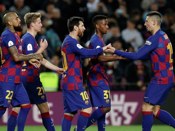 """""""Barselona"""" İspaniya Kubokunun 1/4 finalına yüksəldi"""