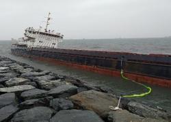 """Fırtına vurdu, kapitan Hüseynovun gəmisi saya oturdu - <span class=""""color_red"""">Borca görə həbs qoyulmuşdu</span>"""