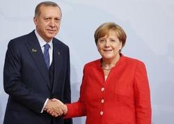 Ərdoğan və Merkel Türkiyə ilə Aİ əlaqələrini müzakirə ediblər
