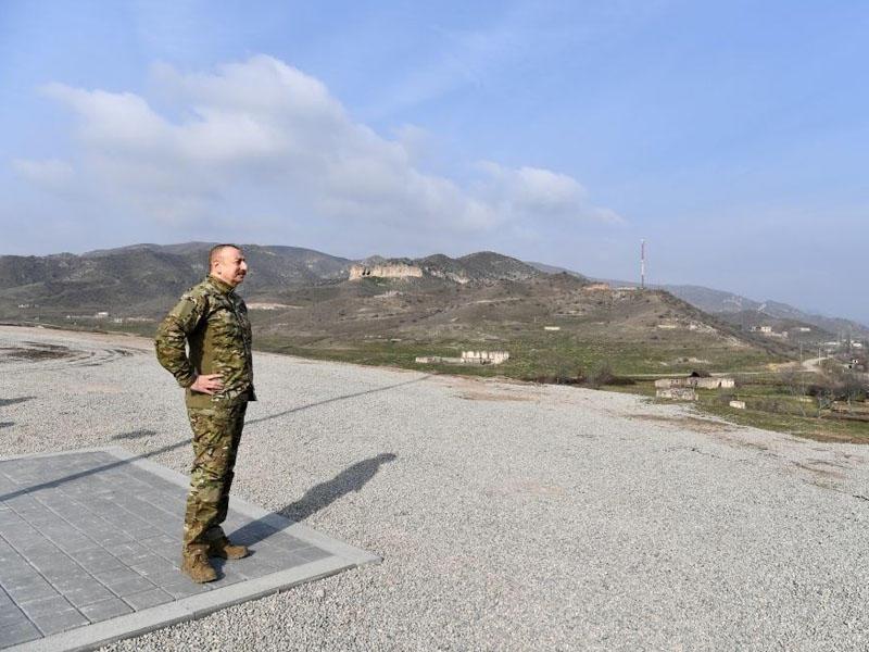 Azərbaycan Prezidenti: Vandallar, barbarlar işğal dövründə bütün binaları söküblər