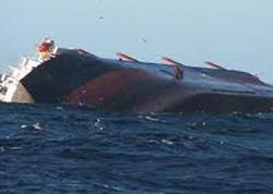 Konqoda 700 sərnişin daşıyan gəmi batdı