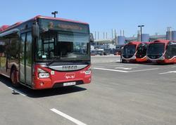 """Ekspres xətlər üzrə 100-ə yaxın ehtiyat avtobus cəlb edilir - <span class=""""color_red"""">BNA</span>"""