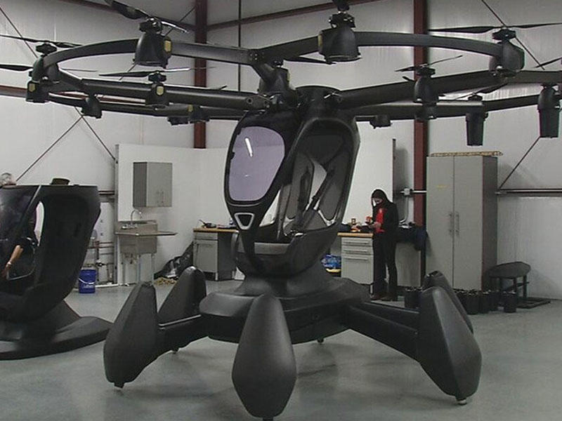 ABŞ-da uçan avtomobil nümayiş olunub