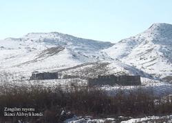 Ermənilərin viran qoyduğu daha bir kənddən görüntülər - VİDEO