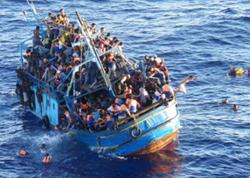 Afrikadan Avropaya keçmək istəyən qaçqınlar saxlanıldılar