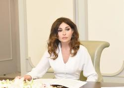 """Birinci vitse-prezident Mehriban Əliyeva """"Yüksəliş"""" müsabiqəsinin qaliblərini təbrik edib"""