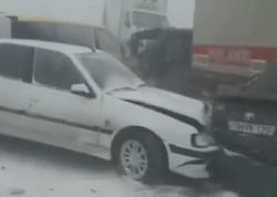 Bakıda zəncirvarı qəzanın baş verməsi ilə bağlı cinayət işi başlanıb - RƏSMİ