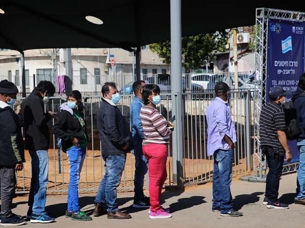 İsraildə 16 yaşdan yuxarı əhalinin təxminən yarısına vaksinin ikinci dozası vurulub