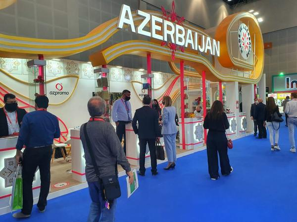 Beynəlxalq sərgidə Azərbaycan məhsullarına böyük maraq var - FOTO