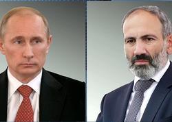 Paşinyan yenə Putinə zəng etdi