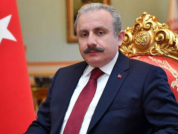 """&quot;Xocalı soyqırımı XX əsrin ən ağır cinayətidir&quot; - <span class=""""color_red"""">Türkiyə parlamentinin sədri</span>"""