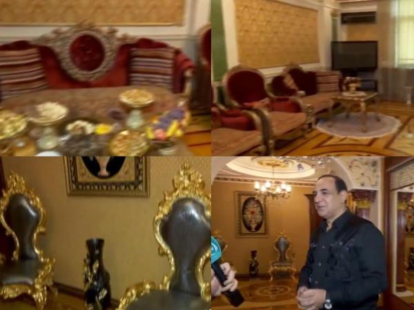 Manaf Ağayev yenə evi ilə gündəmdə - VİDEO
