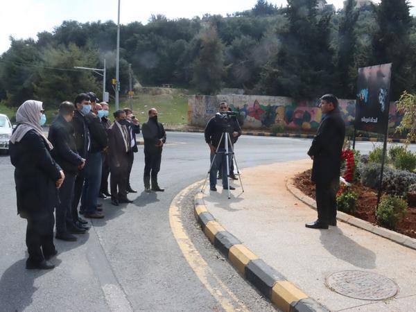 İordaniya-Azərbaycan dostluq rəmzini bildirən dairədə Xocalı soyqırımı anılıb - FOTO