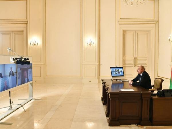 Azərbaycan Prezidenti: Hər bir şəhərin yenidən qurulması üçün baş plan hazırlayırıq