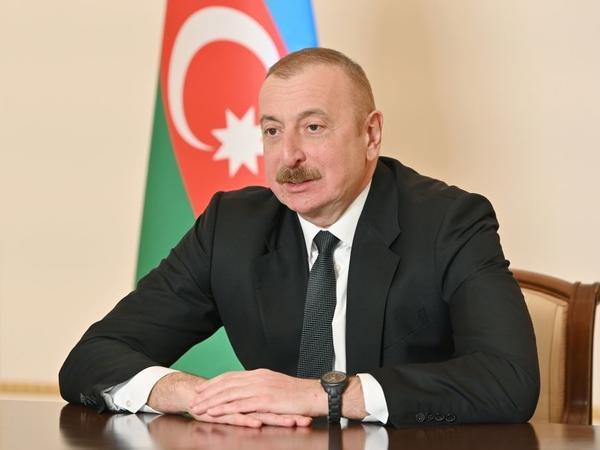 Prezident İlham Əliyev: Bizim müvafiq strukturlarımızla beynəlxalq şirkətlər arasında əməkdaşlıq üçün böyük imkan olacaq