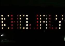"""Bakıda Xocalıyla bağlı kompozisiya - <span class=""""color_red"""">VİDEO</span>"""