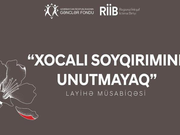 """""""Xocalı soyqırımını unutmayaq"""" müsabiqəsininin qalibləri müəyyən edilib - FOTO"""