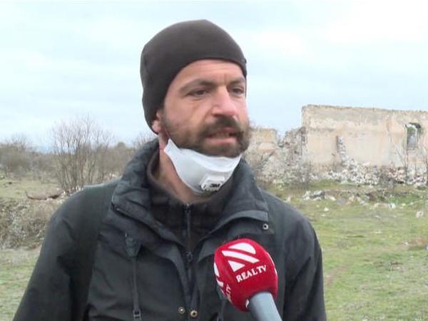 """Xarici jurnalistlər Ağdamda - <span class=""""color_red"""">VİDEO</span>"""