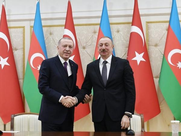 Prezident İlham Əliyev Rəcəb Tayyib Ərdoğana zəng edib