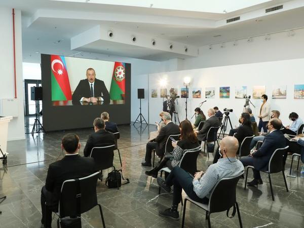 Prezident İlham Əliyev: Türkiyə özü müəyyən edəcək ki, Ermənistanla sərhədlər nə zaman açıla bilər