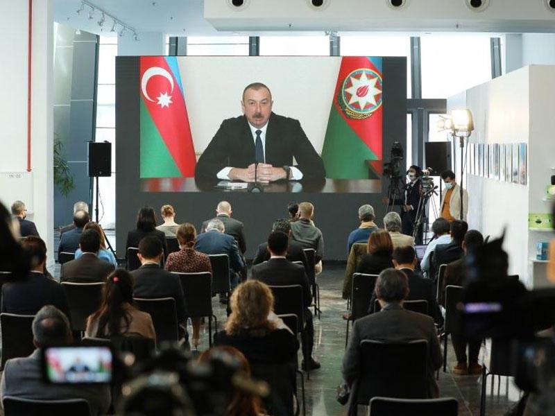 Azərbaycan Prezidenti: Minalanmış sahələrin xəritələrini verməmək cinayətdir