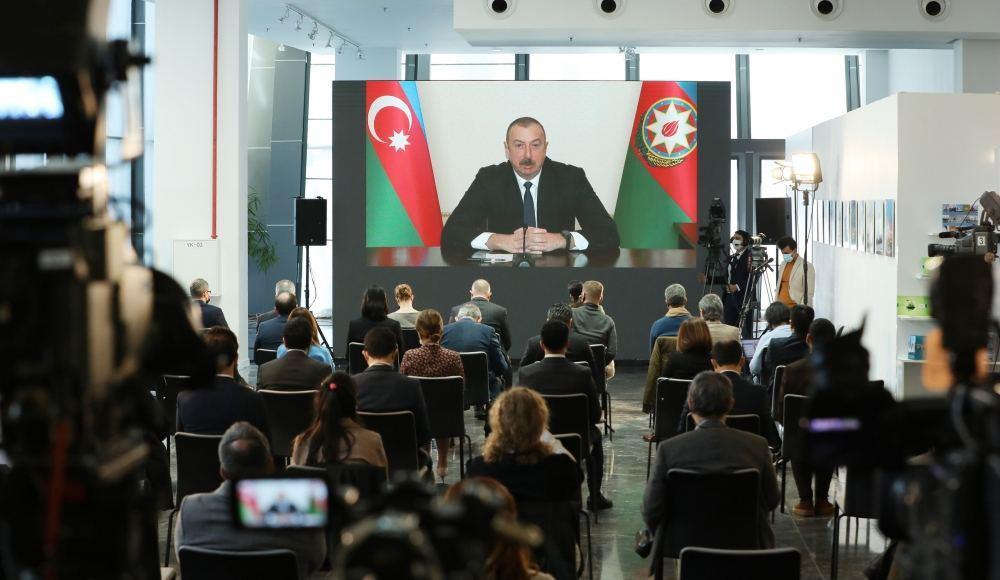 Prezident İlham Əliyev: Xocalı soyqırımı törədiləndə dünya susmuşdu
